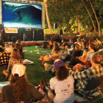 audience at Kona Surf Film Festival