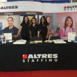 ALTRES Staff at Career Expo booth