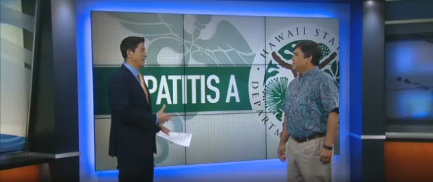 John Fielding discusses communicable diseases on Hawaii News Now